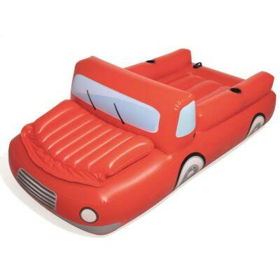 Bestway Piros autós matrac 280 x 149 cm