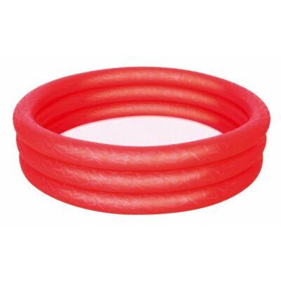Bébi pancsoló piros színben