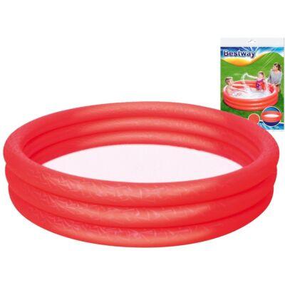 Bestway Bébi pancsoló piros színben 152x30cm