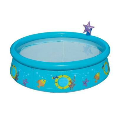 Gyermek medence tengeri csillagos zuhanyzóval
