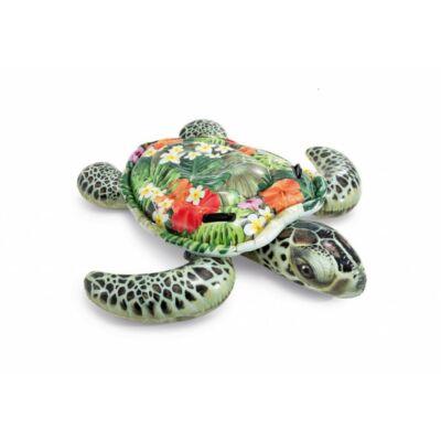 Intex virágos teknős úszósziget gyerekeknek 191 x 170 cm