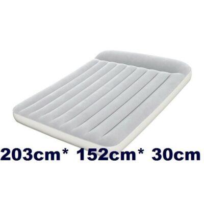 Velúr matrac  Queen-szürke