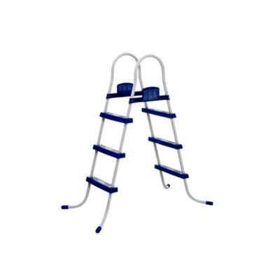 Kétágú medencelétra 107 cm-es
