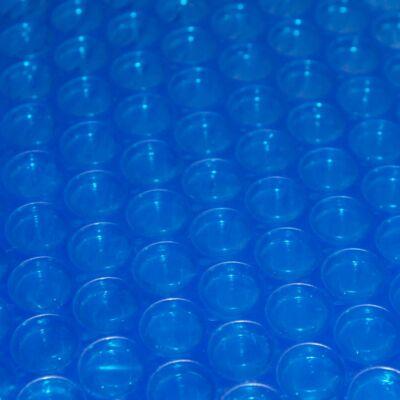 Szolár takarófólia 7,2 * 3,6 m ovális, 300 micron