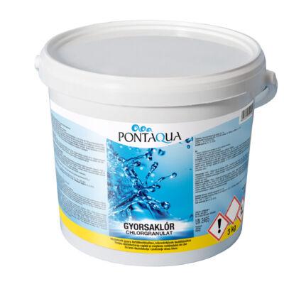 Gyorsaklór klórgranulátum 3 kg - Pontaqua