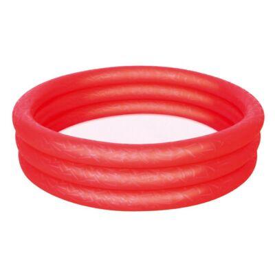 Bestway piros gyerek medence 102 x 25 cm