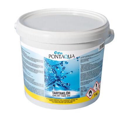 Tartaklór 3 kg (200 gr-os tabletta) - Pontaqua